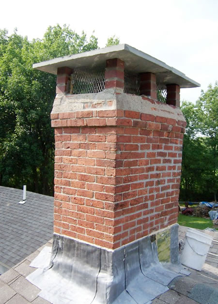 Brick Chimney Caps For Chimneys : Products four seasons chimney service